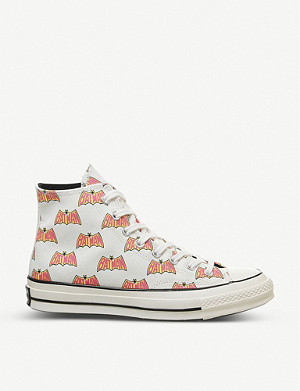 CONVERSE Converse x Batman All Star Hi 70s graphic-print canvas high-top trainers