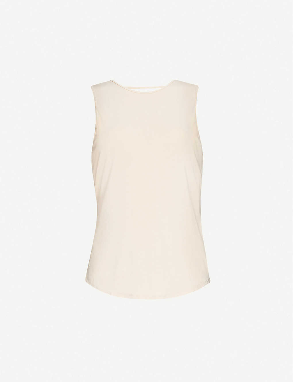 GOOD AMERICAN: Sleeveless stretch-knit tank top