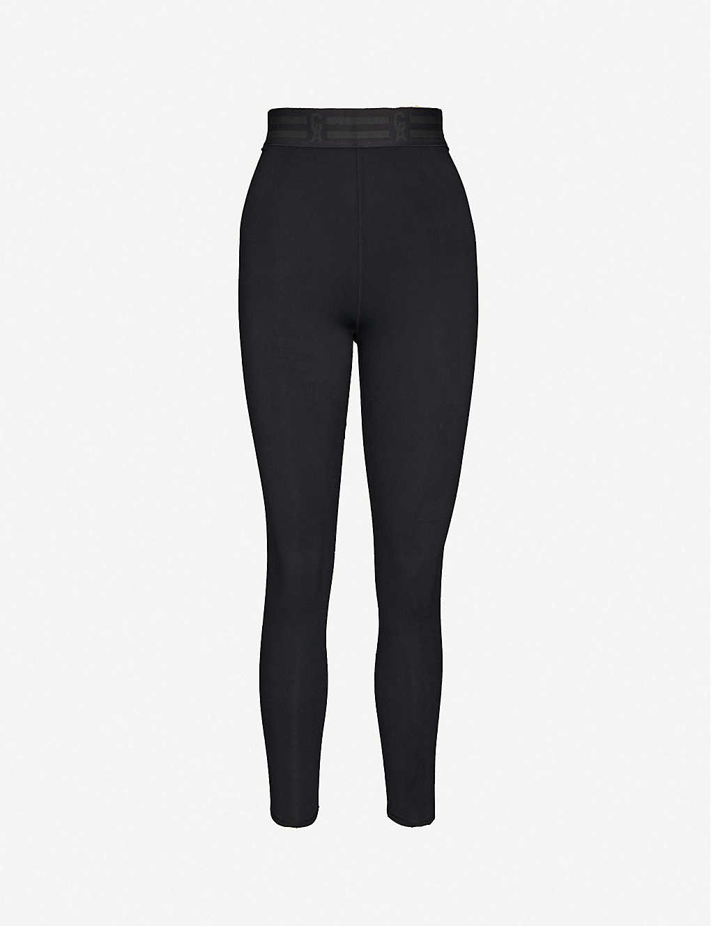 GOOD AMERICAN: Icon high-rise stretch-jersey leggings