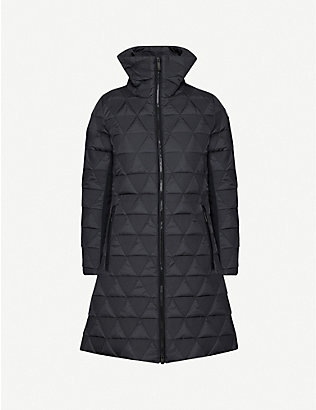 FUSALP: Kate quilted shell jacket