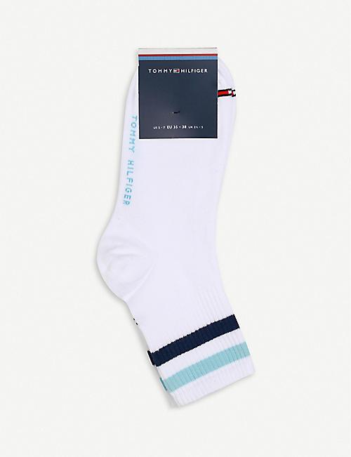 Suriname Flag Printed Crew Socks Warm Over Boots Stocking Cool Warm Sports Socks