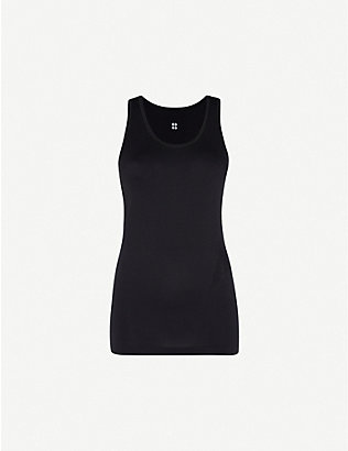 SWEATY BETTY: Athlete seamless stretch-jersey top