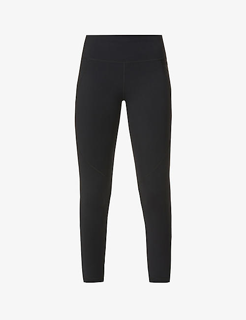 SWEATY BETTY: Power 7/8 Workout high-rise stretch-woven leggings