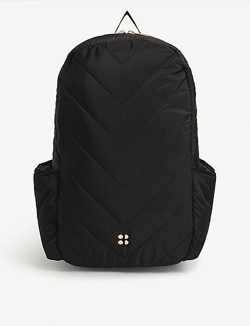 SWEATY BETTY Icon nylon laptop backpack