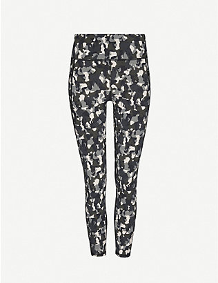SWEATY BETTY: Zero Gravity camouflage-print stretch-jersey leggings
