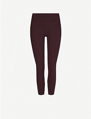 SWEATY BETTY: Power 7/8 Workout stretch-jersey leggings