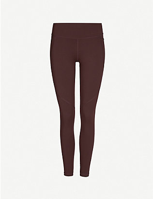 SWEATY BETTY: Power Workout stretch-jersey leggings