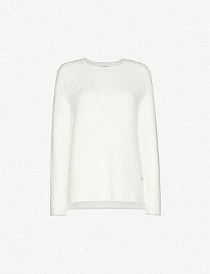 SWEATY BETTY Portobello Knitted Crew Neck Jumper