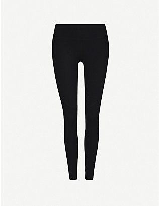 SWEATY BETTY: Power Workout high-rise stretch-jersey leggings