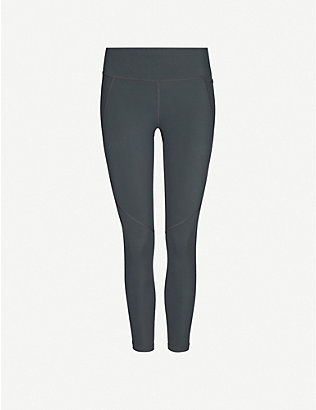 SWEATY BETTY: Power 7/8 high-rise stretch-jersey leggings