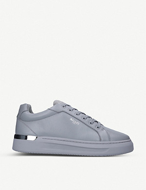 MALLET GRFTR tonal leather low-top trainers
