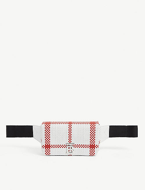 BURBERRY: Lola leather belt bag