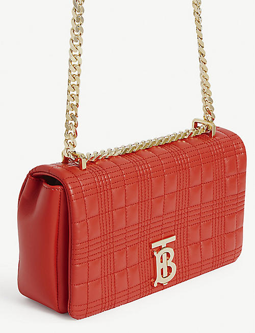 BURBERRY Lola small quilted leather shoulder bag