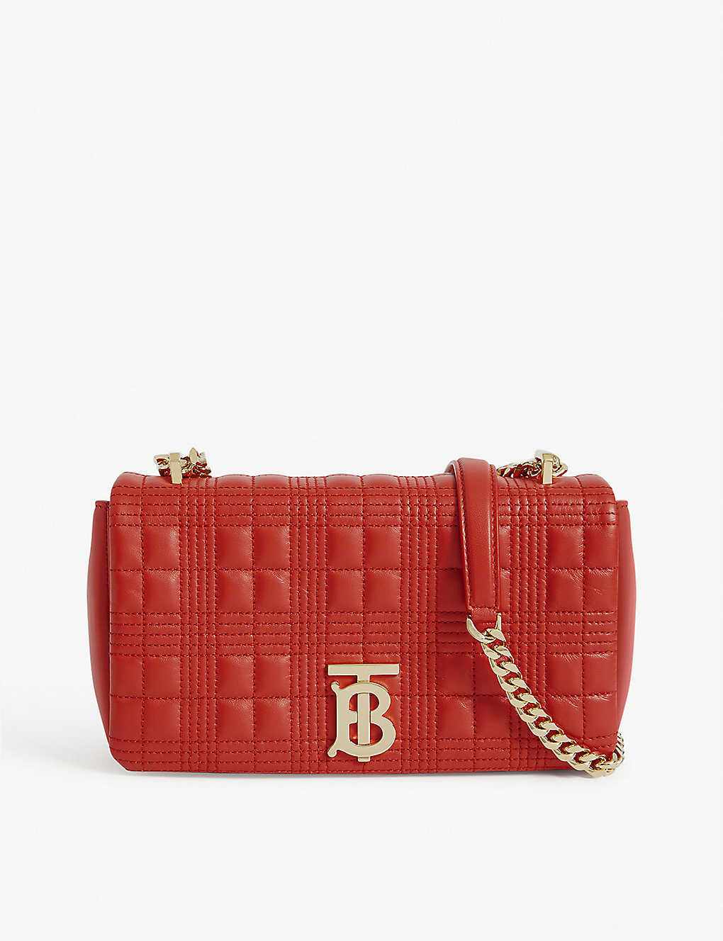 BURBERRY: Lola small leather cross-body bag