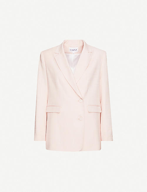 CLAUDIE PIERLOT: Single-breasted woven blazer