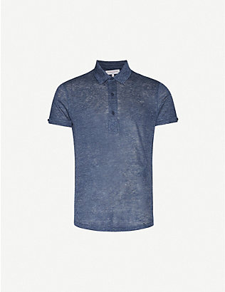 ORLEBAR BROWN: Sebastian tailored-fit linen polo shirt