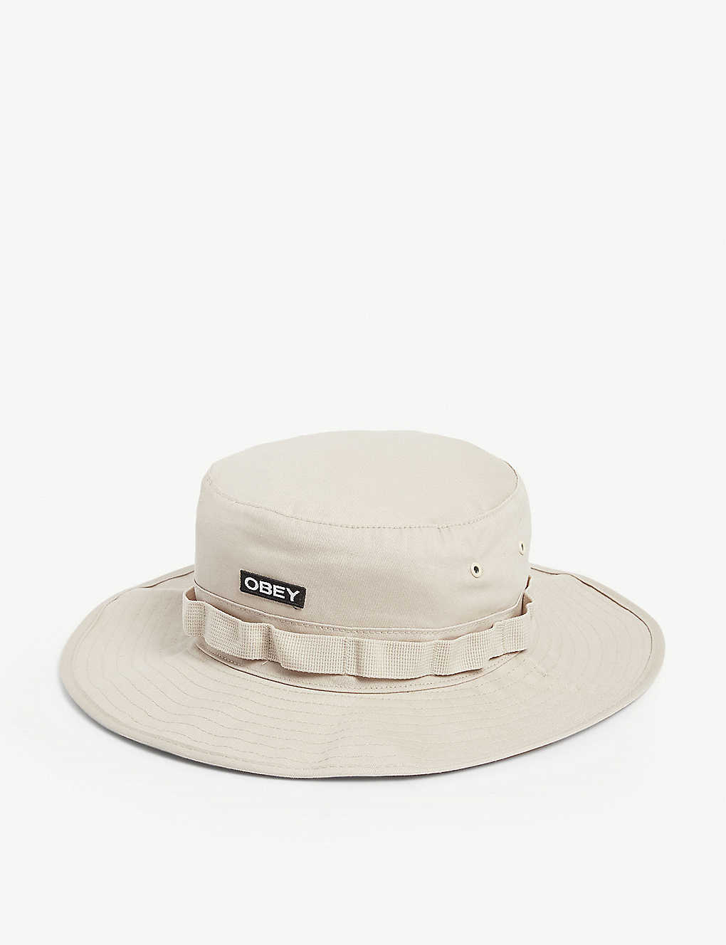 OBEY: River Boonie cotton hat