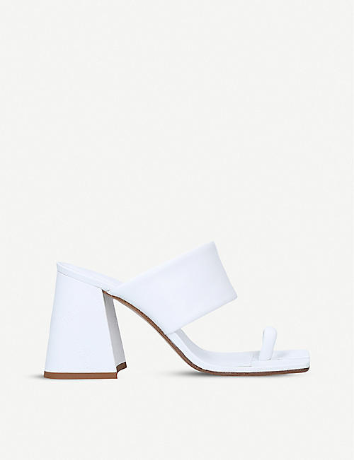 MAISON MARGIELA: Tabi split-toe leather mules