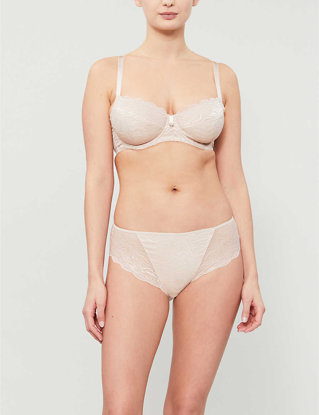 FANTASIE: Impression underwired stretch-lace balconette bra