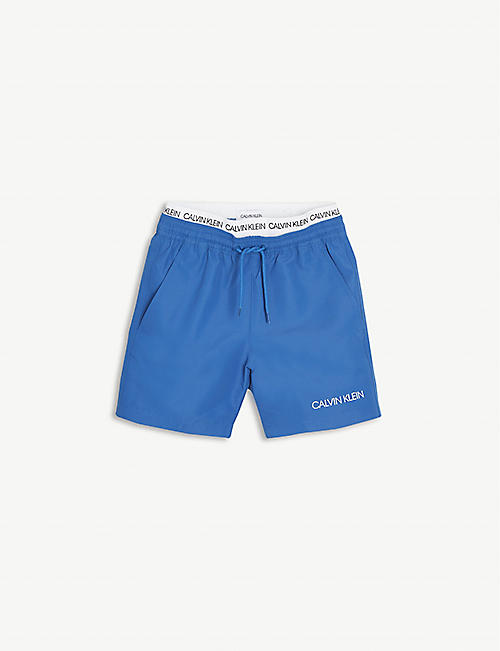 CALVIN KLEIN: Logo shell swim shorts 8-16 years