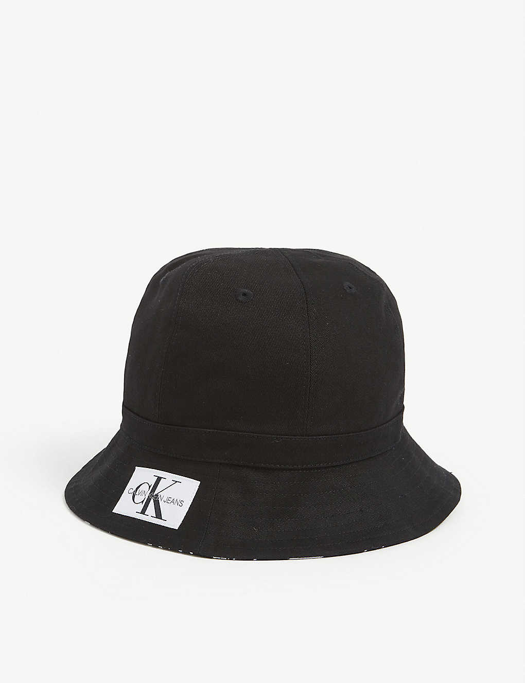 CALVIN KLEIN JEANS: Kids reversible cotton bucket hat