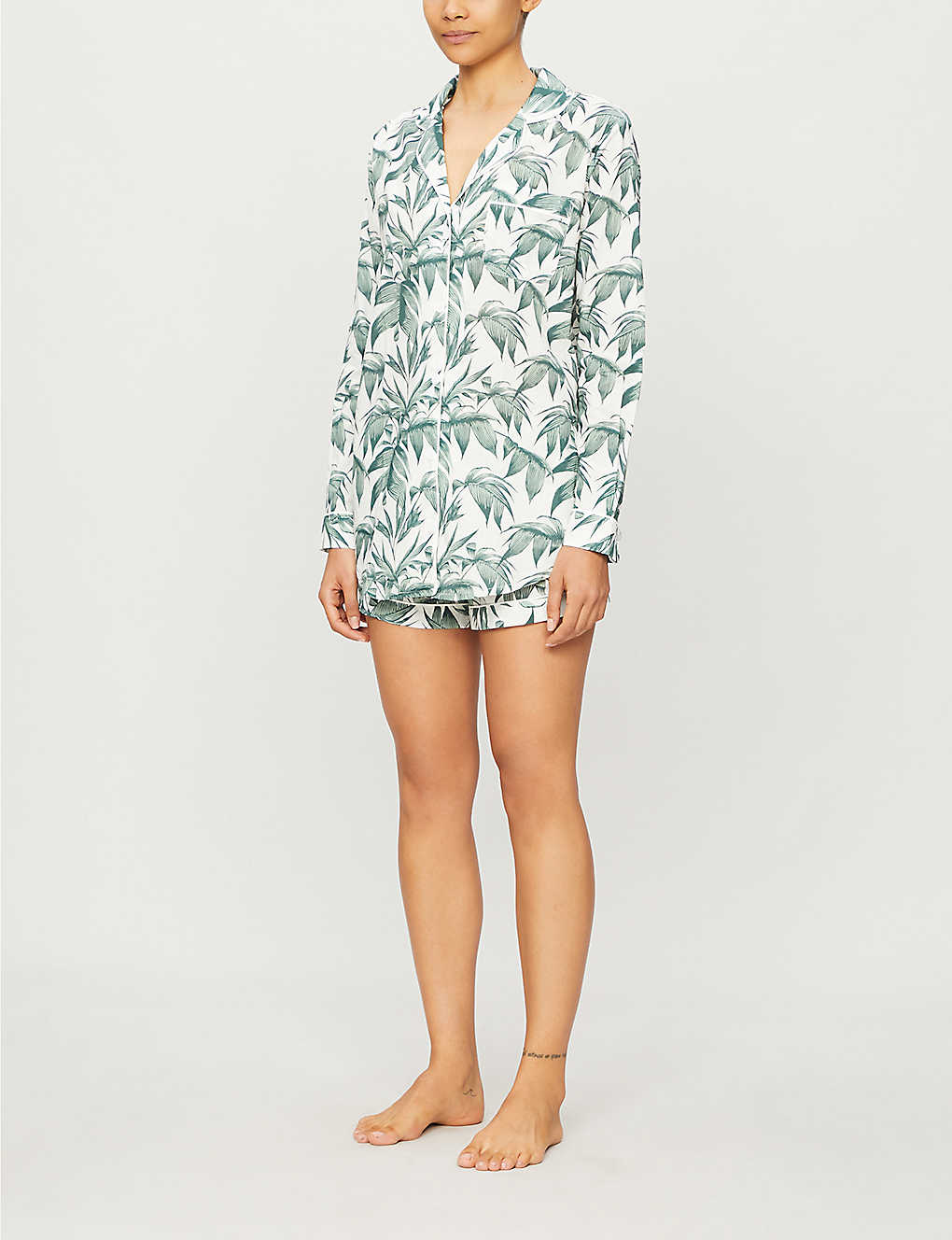 Organic Cotton Leaf PJs