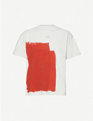 A-COLD-WALL: Block-paint cotton-jersey T-shirt