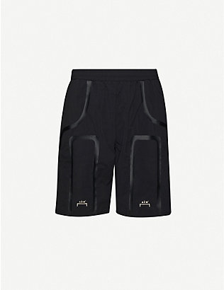 A-COLD-WALL: Relaxed-fit straight drawstring-waistband shell shorts