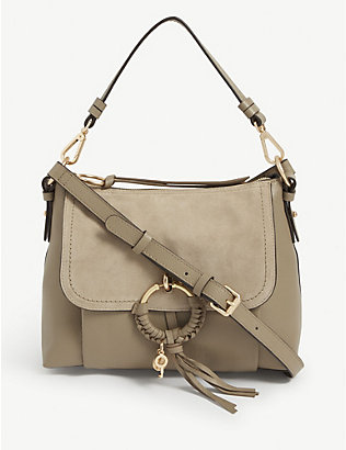 SEE BY CHLOE: Joan medium leather shoulder bag