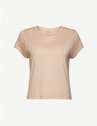 VAARA: Nadia lightweight lyocell and cotton-blend T-shirt