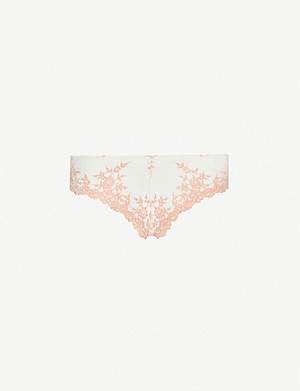 WACOAL Embrace Lace mid-rise stretch-mesh briefs