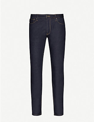 EMPORIO ARMANI: J06 slim-fit stretch-denim jeans