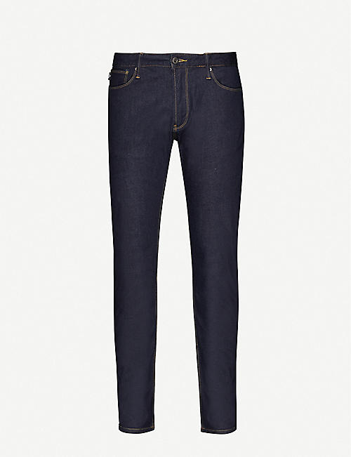 EMPORIO ARMANI J06 slim-fit stretch-denim jeans