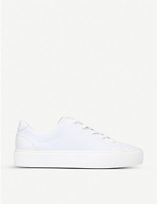 UGG: Zilo low-top leather trainers