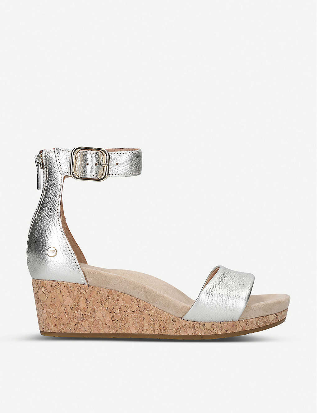 UGG: Zoe leather wedge sandals