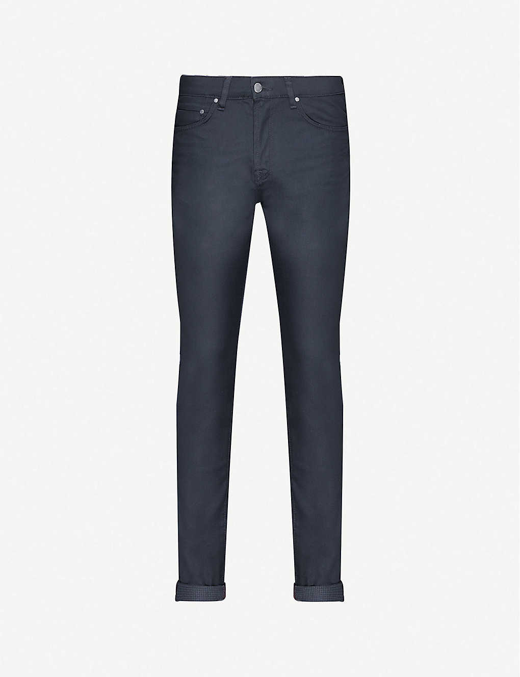 TED BAKER: Tapered stretch-denim jeans