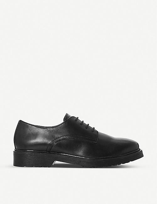 DUNE: Flare lace-up leather brogues