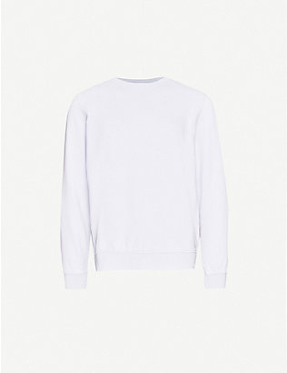 COLORFUL STANDARD: Crewneck organic cotton-jersey sweatshirt