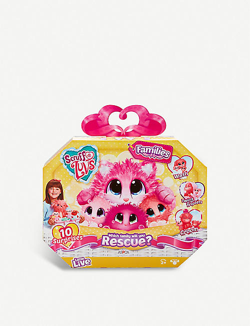POCKET MONEY: Scruff-a-Luv Families Rescue toy set