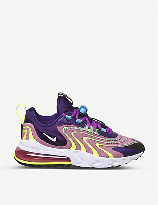 NIKE: Air Max 270 React low-top trainers