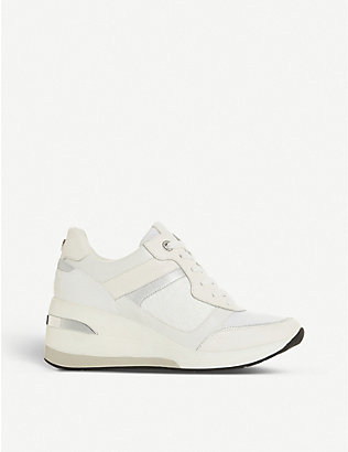 DUNE: Dune Easton wedge trainers