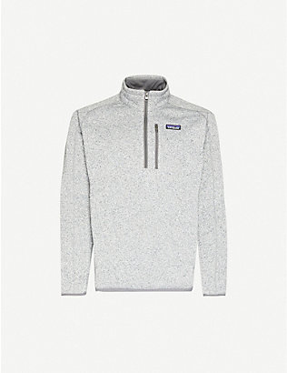 PATAGONIA: Better Sweater zipped recycled-polyester sweatshirt