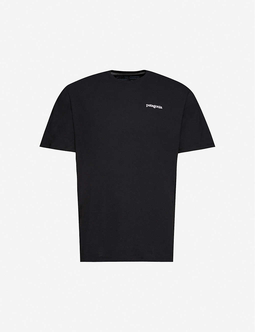PATAGONIA: Logo-print recycled cotton-blend jersey T-shirt