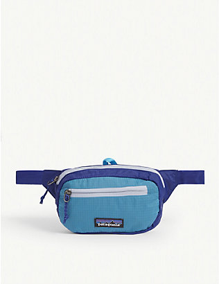 PATAGONIA: Ultralight Black Hole mini recycled-nylon belt bag