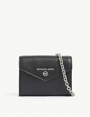 MICHAEL MICHAEL KORS Jet Set leather micro cross-body bag