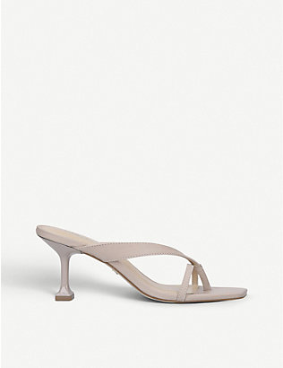 CARVELA: Gain strappy leather sandals