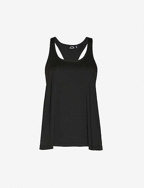 THE UPSIDE: Issy dri-release stretch-jersey vest top