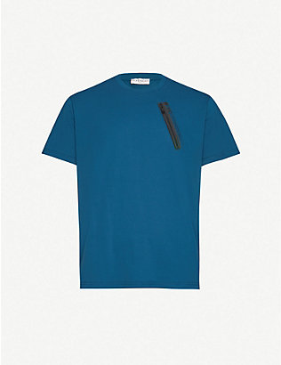 GIVENCHY: Classic-fit crewneck cotton-jersey T-shirt