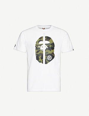 A BATHING APE 1st Camo 2nd Ape cotton-jersey T-shirt