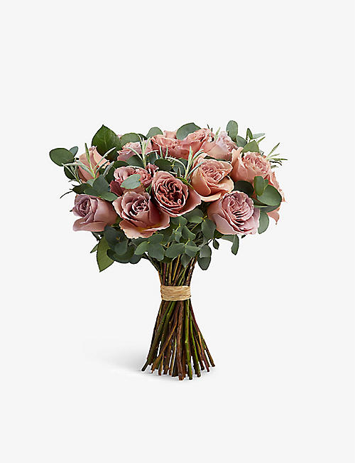 THE REAL FLOWER COMPANY Simply Café Latte medium scented bouquet